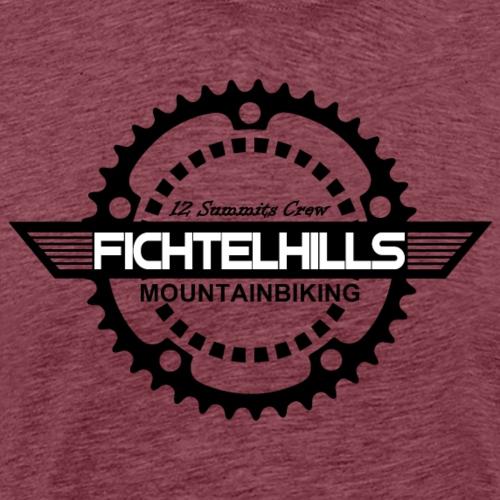 fichtelhills wings - Männer Premium T-Shirt