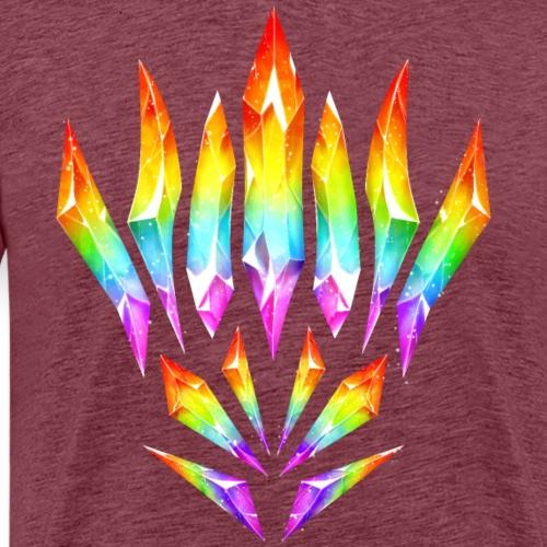 Cristales orgullo arcoíris - Camiseta premium hombre