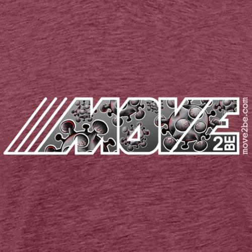Move Logo Virus - Männer Premium T-Shirt