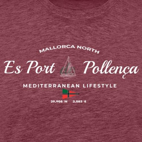 Pollensa: North of Mallorca - Camiseta premium hombre
