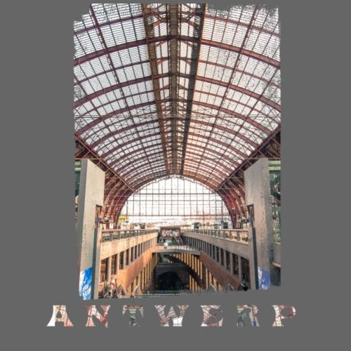 ANTWERP CENTRAL STATION - Mannen Premium T-shirt