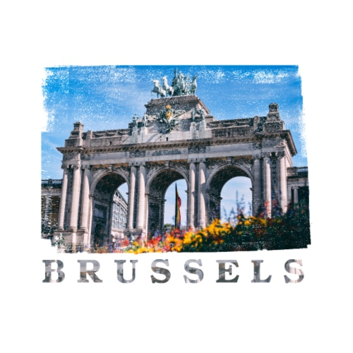 Brussels   Jubelpark - Mannen Premium T-shirt