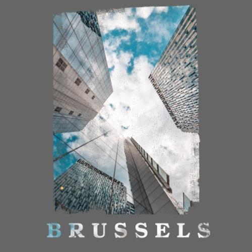 Brussels   Architecture - Mannen Premium T-shirt