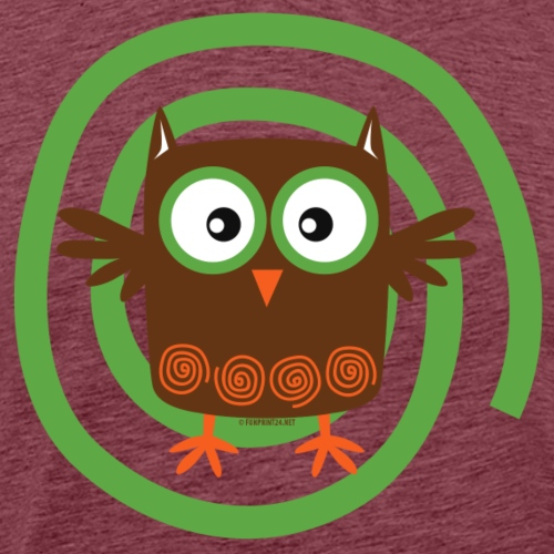 ORGANIC OWL - TEXTILE AND GIFT PRODUCTS FP10-53 - Miesten premium t-paita