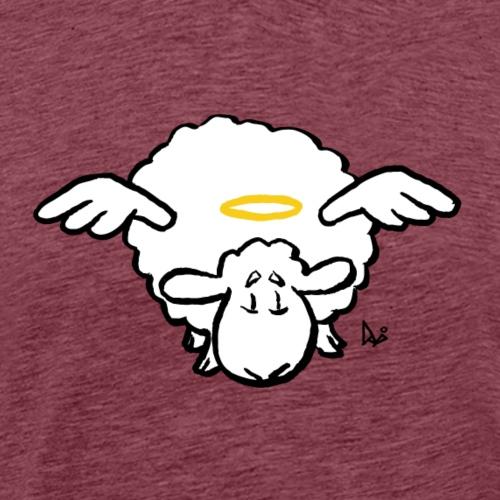 Angel Sheep - Herre premium T-shirt