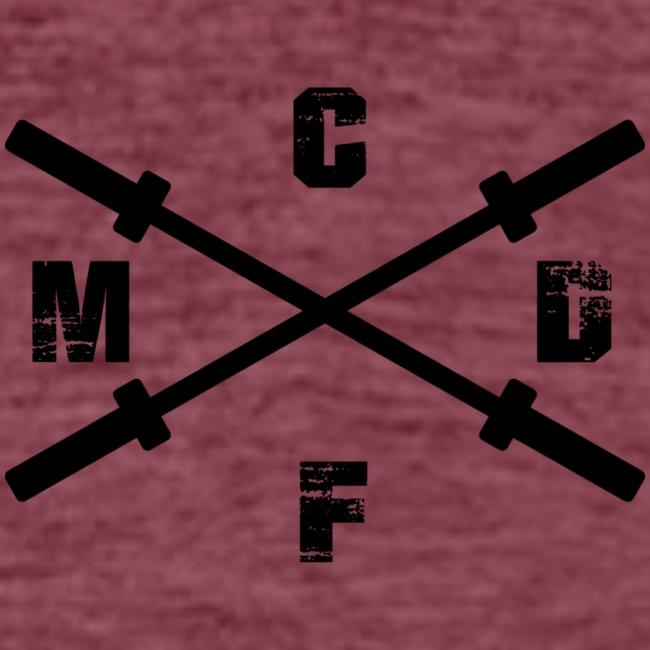 CFMD Legacy & Crossed Barbells dunkel