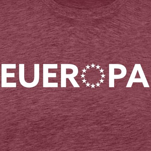 Eueropa | White - Männer Premium T-Shirt