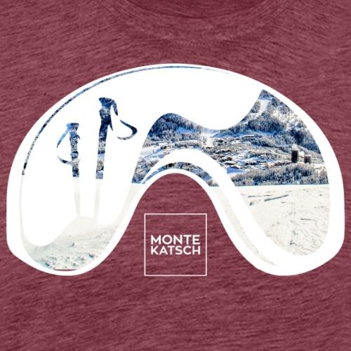 MONTEKATSCH WATCH - Männer Premium T-Shirt
