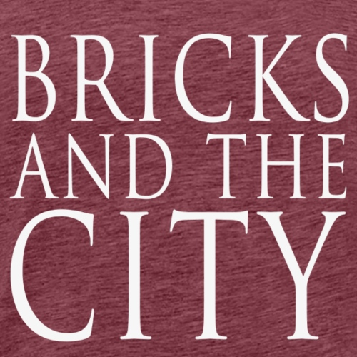 Bricks and the City (square) - Maglietta Premium da uomo