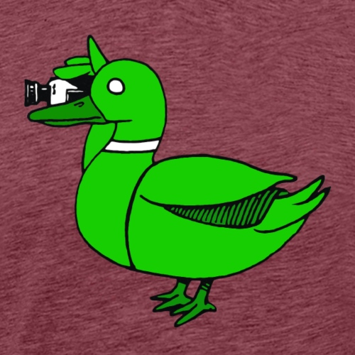 Greenduck Film Just Duck - Herre premium T-shirt