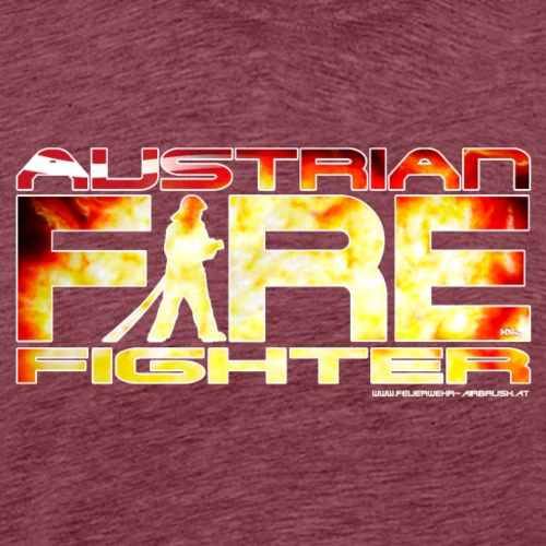 austrian firefighter Logo - Männer Premium T-Shirt