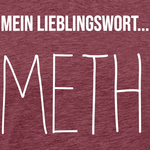 meth word - Männer Premium T-Shirt