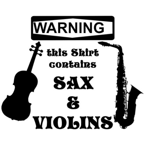 Sax and Violins - Männer Premium T-Shirt