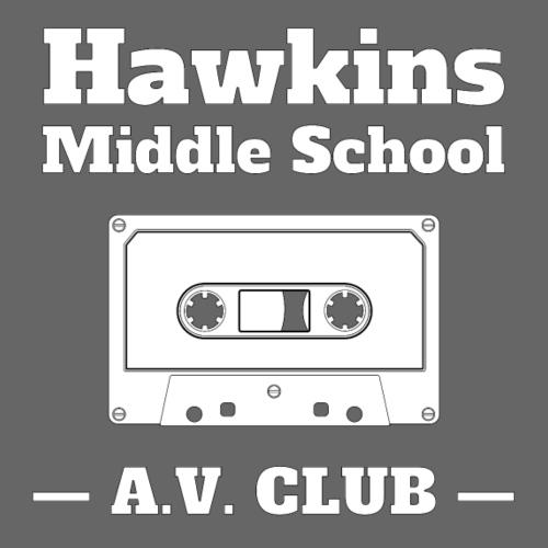 Hawkins Middle School AV - Männer Premium T-Shirt