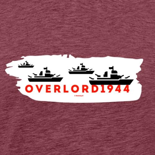 Overlord 1944 - Mannen Premium T-shirt