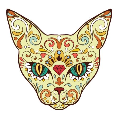 Skull Cat - Maglietta Premium da uomo