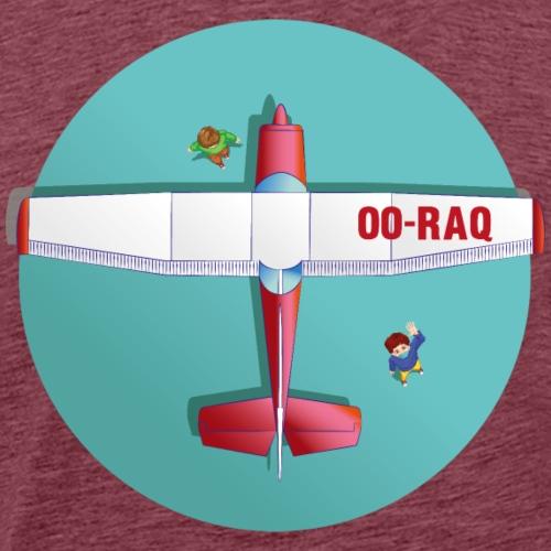 Cessna social distancing - Mannen Premium T-shirt