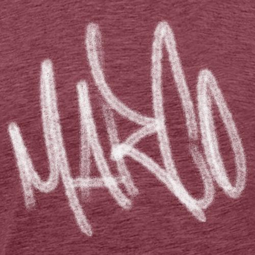 Marco Graffiti Blanc - T-shirt Premium Homme