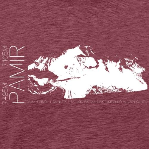 Pamir white expedition - Men's Premium T-Shirt