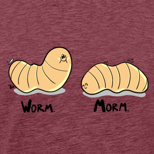 Worm Morm - Männer Premium T-Shirt