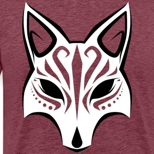 Máscara Kitsune - Versión 1 - Camiseta premium hombre