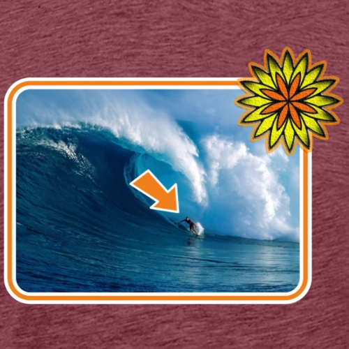 SOLRAC Surfer - Camiseta premium hombre