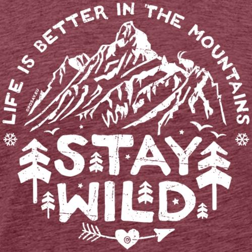 Stay Wild Shop - Men's Premium T-Shirt