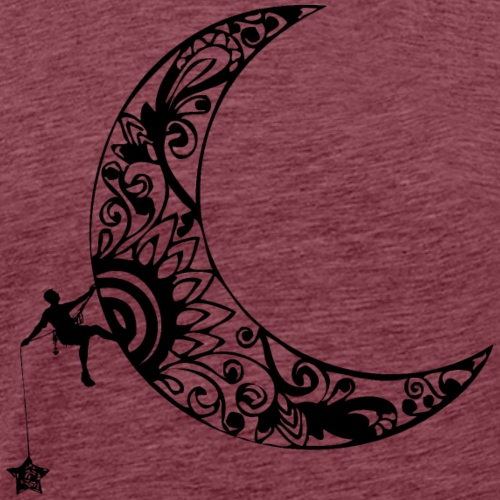 Luna - climb to the stars - Men's Premium T-Shirt