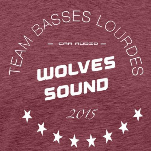 teambasslow wolves - T-shirt Premium Homme
