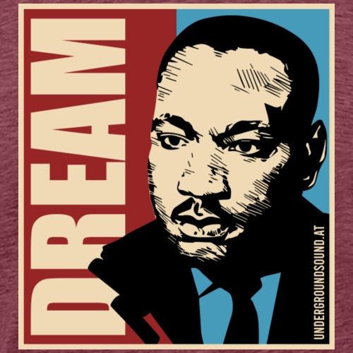 DREAM - Martin Luther King by UGS - Männer Premium T-Shirt