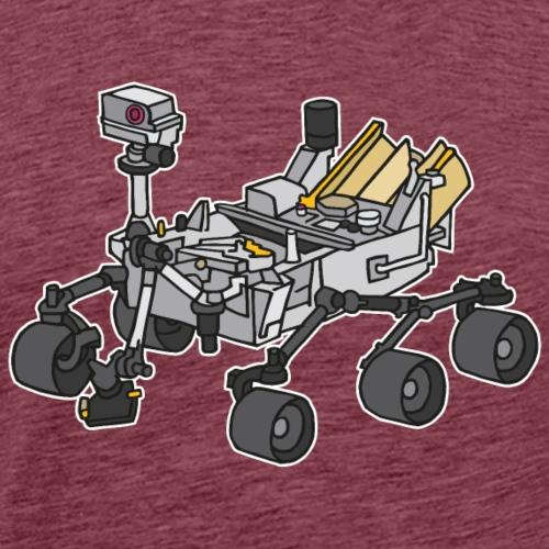 Marsrover Curiosity - Männer Premium T-Shirt