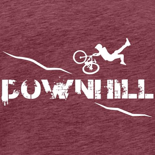 DOWNHILL ACTION - Männer Premium T-Shirt
