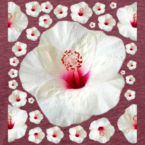 Hibiscus rosa sinensis - T-shirt Premium Homme