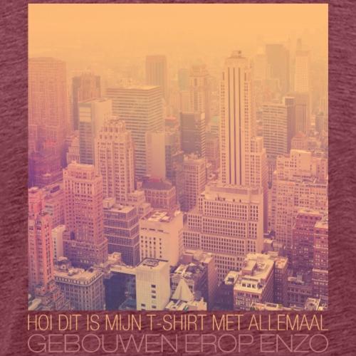 Gebouwen enzo - Mannen Premium T-shirt
