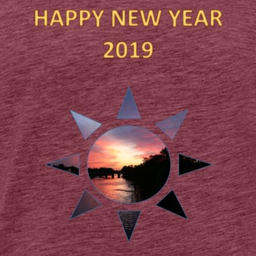 Happy New Year - Männer Premium T-Shirt