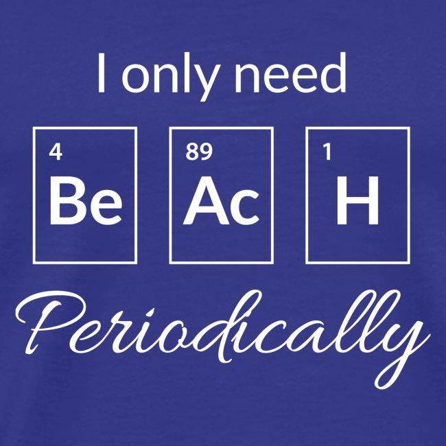 Periodensystem beach periodically