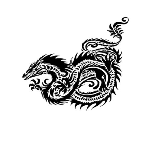 Dragon tribal mythique