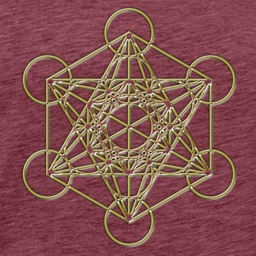 Metatrons Cube gold 3D