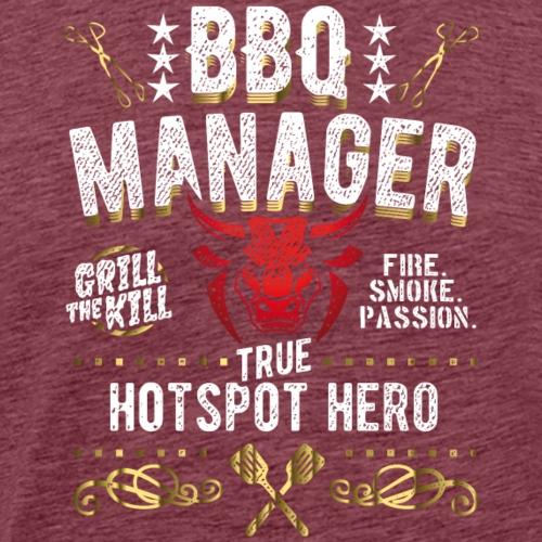 BBQ Manager - Männer Premium T-Shirt