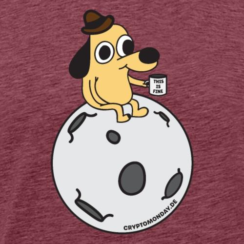 This is fine - Männer Premium T-Shirt