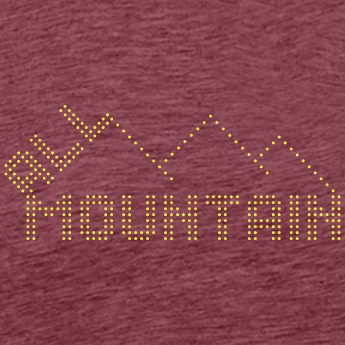 ALL MOUNTAIN - Männer Premium T-Shirt
