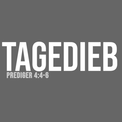 TAGEDIEB - Print in weiß