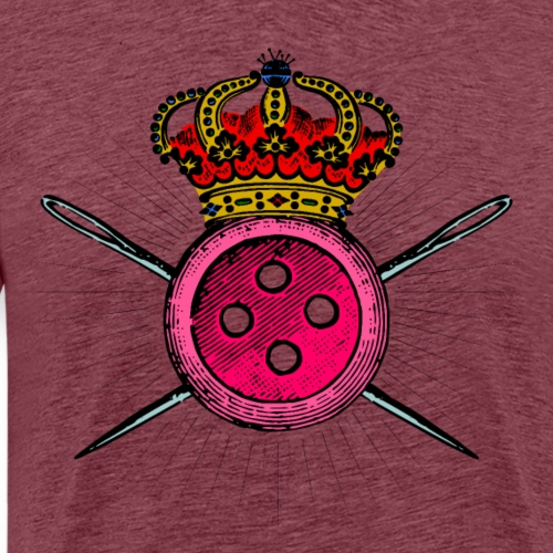 Reina de la Costura - Camiseta premium hombre