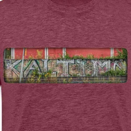 Kaltimo on Kaltimo on Eno - Miesten premium t-paita