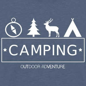 Outdoor Adventure Camp - T-shirt Premium Homme