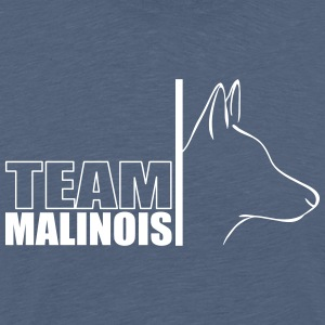 TEAM Malinois - Premium T-skjorte for menn