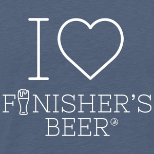 I love Finisher's Beer - Men's Premium T-Shirt
