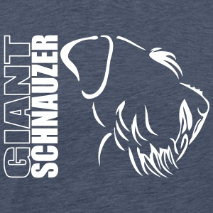 GIANT SCHNAUZER PROFILE - Men's Premium T-Shirt