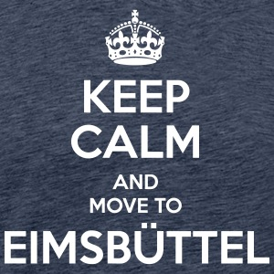 Keep Calm and move to Eimsbüttel - Männer Premium T-Shirt