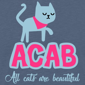 All Cats Are Beautiful - Men's Premium T-Shirt